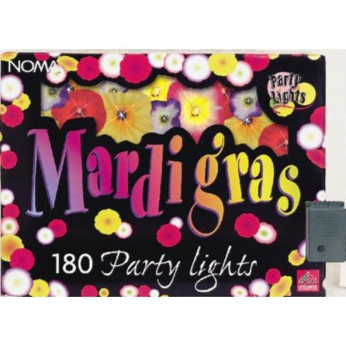 Mardi Gras set of 180 Flower Party Lights