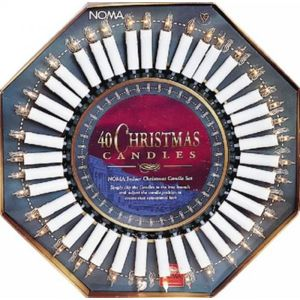 Christmas Indoor Candle Lights Set - 40 Lights