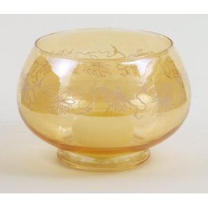 Wax Lyrical Colonial Floating Candle Holder - Glass Bowl