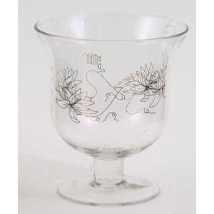 Wax Lyrical Vase on Stem with Lily Design