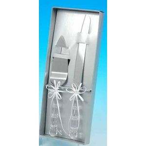 Diamante Wedding cake serving set
