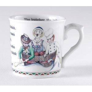 Royal Worcester Rub a dub tub - mug