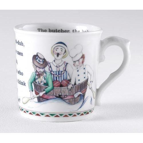 Royal Worcester Rub a dub tub - mug