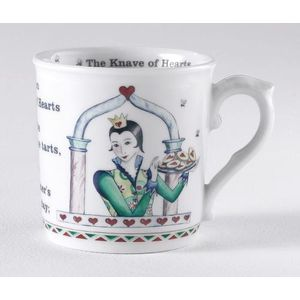 Royal Worcester Queen of hearts mug