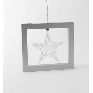 Christmas Decoration - Illuminated Framed Star
