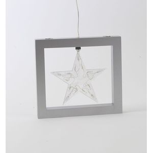 Framed Illuminated Star