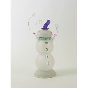 Seasons of Cannon Falls Light Up Festive Decoration - Snowman