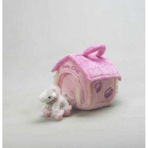 Pony Club Soft Toy Play Set Pink Ref LP0434