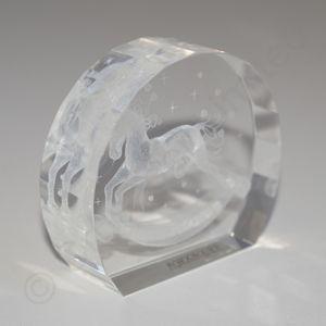 Rocking Horse Congratulations crystal