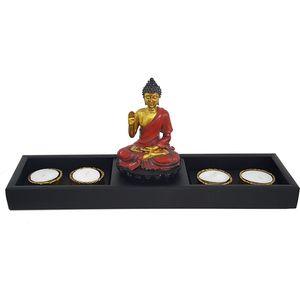 Buddha Sakyamuni Tea Light Candles Holder