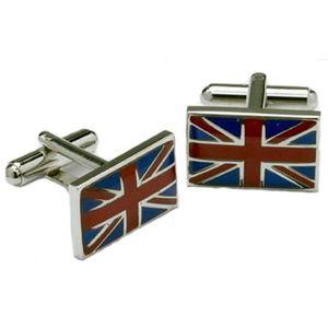 UK Union Jack Flag Cufflinks