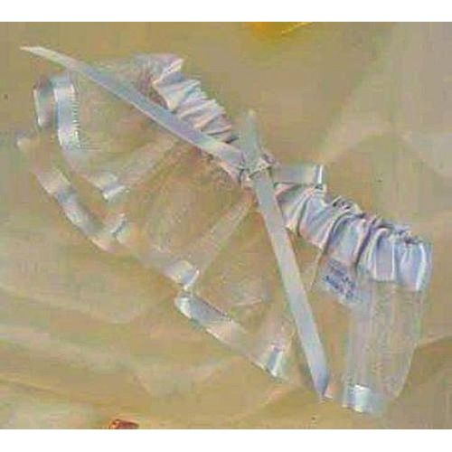 Ivory Bridal Garter