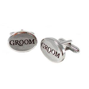 Wedding Party Cufflinks - Groom