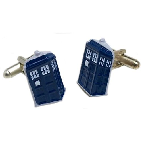 Dr Who Tardis 3d Cufflinks