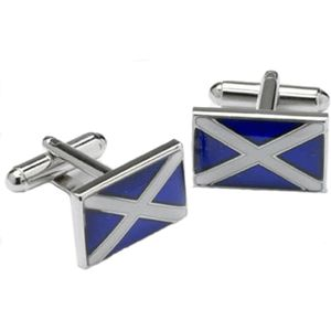 Scotland St Andrews Cross Flag Cufflinks