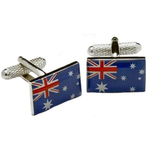 Australia Flag Cufflinks