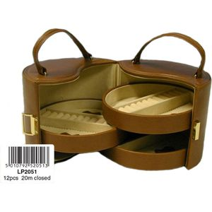 Jewellery Box (Tan) Carry Case Style