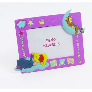 Winnie the Pooh & Friends Fun Photo Frame Lilac