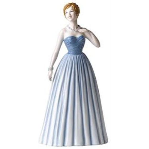 Enchanted Evening Pretty Lady Figurine
