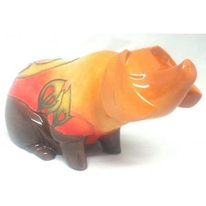 Country Artists Inspirations Country Pig Figurine