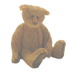 Sherratt & Simpson Bear Figurine Sitting Both Paws Down