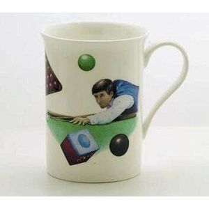 China Mug - Snooker Design