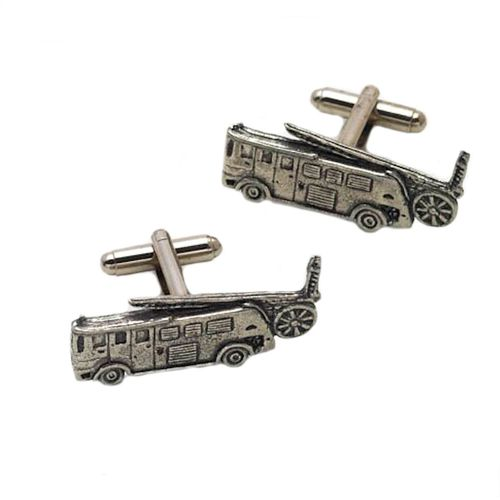 Fire Engine English Pewter Cufflinks