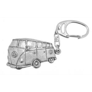 Volkswagen VW Camper Van English Pewter Keyring