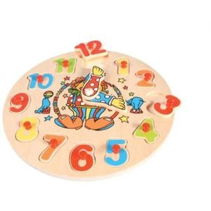 Clock Puzzle Wooden Educational Toy