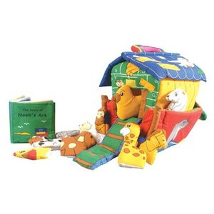 Squidgy Squashy Noah Ark Soft Toy Playset