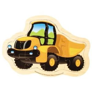 Mega Movers Dumper Truck Wooden Toy Puzzle