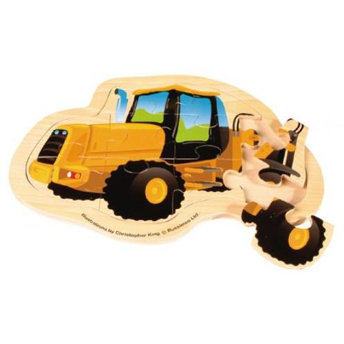 Mega Movers Loader Childrens Wooden Toy Puzzle