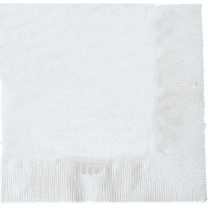 Pack of 20 Napkins - White
