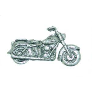 Classic Motorbike Pewter Tie Pin or Lapel Badge
