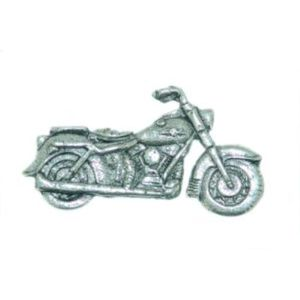 English Pewter Classic Motorbike Tie Pin or Lapel Badge