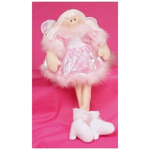 Pink Sitting Angel