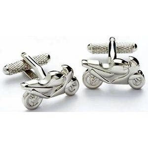 Racing Motorbike Cufflinks
