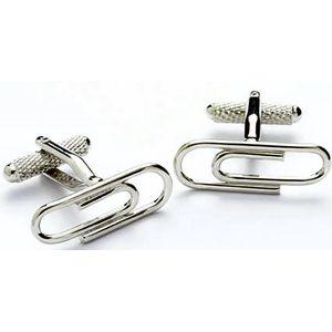 Paper Clip Cufflinks