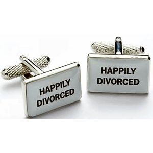 Happily Divorced Cufflinks