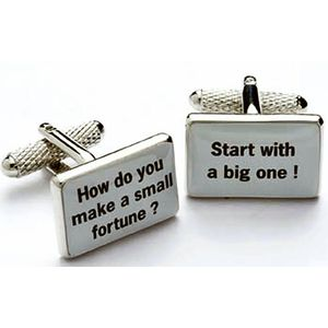 Make a Small Fortune Cufflinks