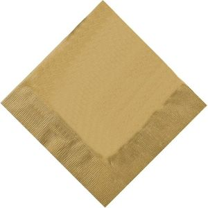 Pack of 20 Napkins - Gold