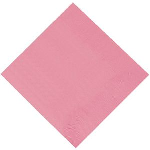Pack of 20 Napkins - Light Pink.