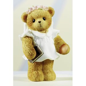 Cherished Teddy Figurine - First Communion (Girl)