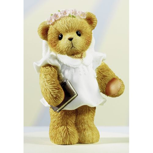 Cherished Teddy First Communion Girl Figurine