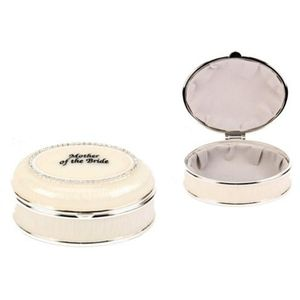 Mother of the Bride Wedding Keepsake Trinket Box