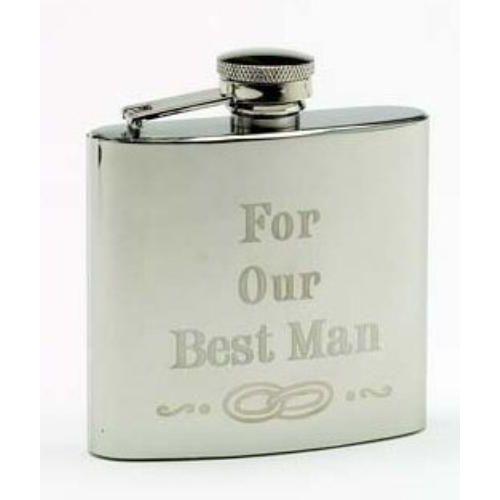 Best Man Hip flask
