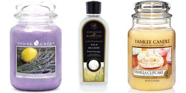 April Fragrance Offers Candles & Accessories