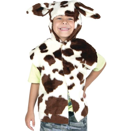 Childs Cow Tabard  Animal Fancy Dress Costume Age 3-8 Years