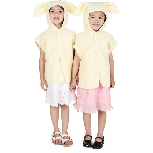 Childs Lamb Tabard Animal Fancy Dress Costume Age 3-8 Years
