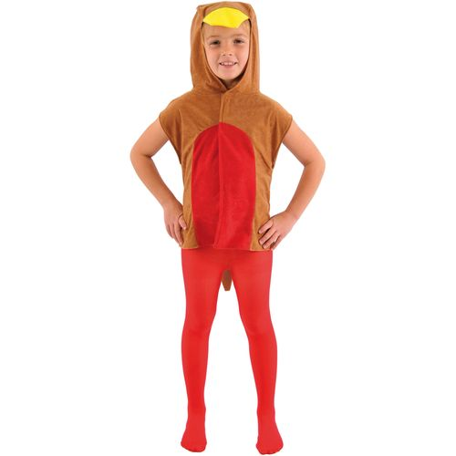 Childs Robin Tabard Christmas Fancy Dress Costume Age 3-8 Years